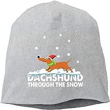 dachshund through the snow beanie