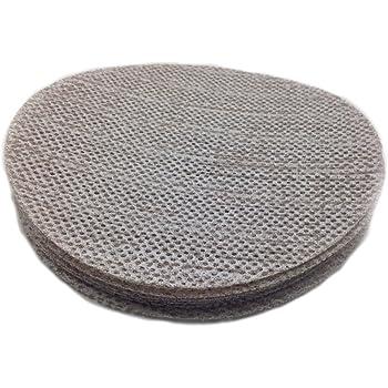 "Sungold Abrasives 91-875-060 Trinet Mesh 60 Grit Hook & Loop Stearated Aluminum Oxide Sanding Discs for Drywall Sanders, 10 Pack, 9"""