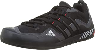 adidas Terrex Swift Solo, Scarpe da Trekking Uomo, Grey Six/Core Black/Grey Two f17, 43 1/3 EU
