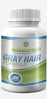 Anti-gray Hair Formula 60 Capsules – for getting rid of Gray Hair - Maintain Strong Healthy & Natural Hair Color.