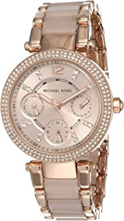 Michael Kors Mini Parker Stainless Steel Multifunction Watch