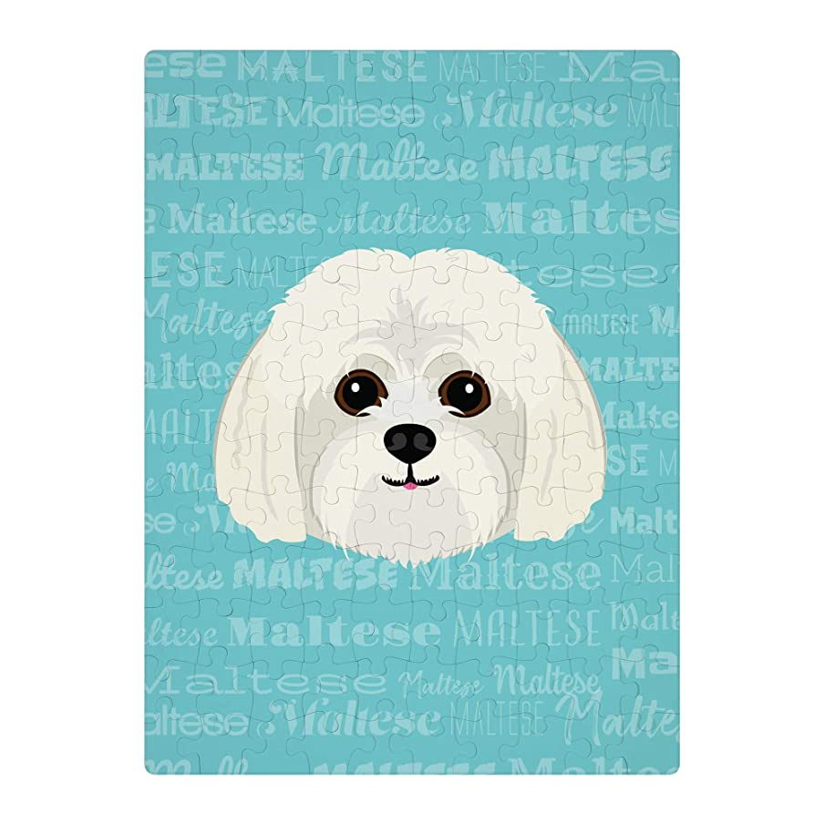 Mystic Sloth Adorable Maltese Dog Breed Novelty 130 Piece Jigsaw Puzzle