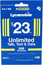 lycamobile $19 plan recharge