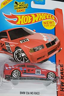 92 BMW M3 14 Hot Wheels 195/250 (Red) Vehicle by Hot Wheels