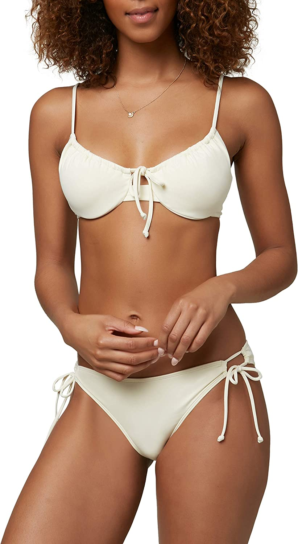 O'NEILL Women's Side Tie Fashion Swimsuit Bikini Hipster Bottom Albuquerque Mall