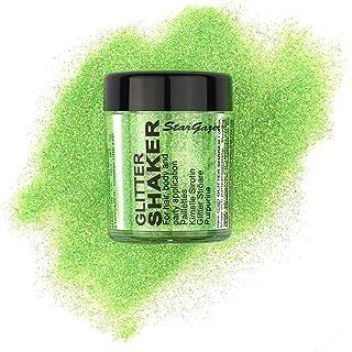 Stargazer Products Glitterstrooidoos, uv-groen, per stuk verpakt (1 x 5 g)