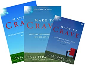 Lysa Terkeurst - Made to Crave FULL SET (Book + DVD + Study Guide)
