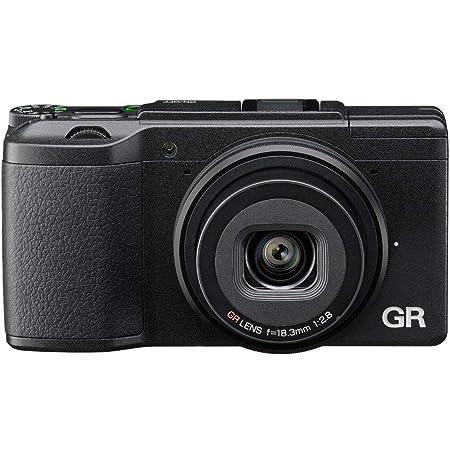 """Ricoh 175844 GR II - Cámara compacta de 16 Mp, color negro, pantalla de 3"""", WiFi, USB 2.0, 28 mm, F2.8"""