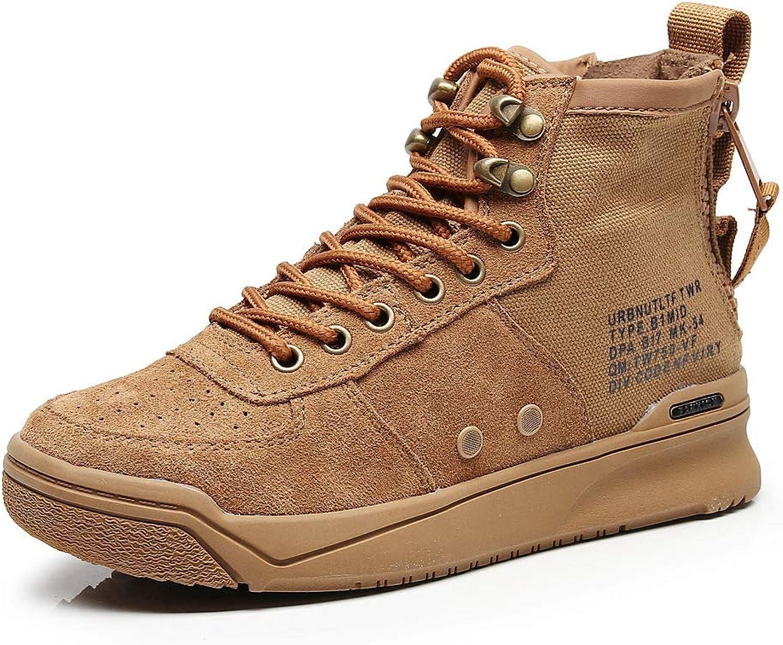 HOESCZS Frauen Schuhe Schuhe Herbst Und Winter Martin Stiefel Weiblichen Leder Plattform Studenten Kurze Stiefel Frauen Runde Stiefel Stiefel  bis zu 50% sparen