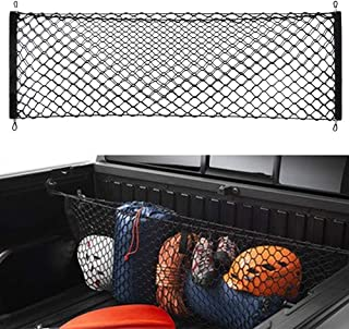 POZEL Trunk Envelope Style Cargo Net for Ford F-150 F150 F 150 2009 2010 2011 2012 2013 2014 2015 2016 2017 2018 2019
