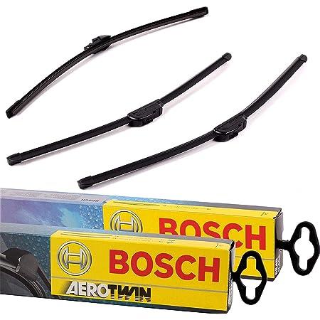 Original Bosch Aerotwin Scheibenwischer Wischblätter Set Vorne Hinten Komplettsatz Auto