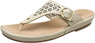 Hush Puppies Women's Canna Thong Leather Slippers