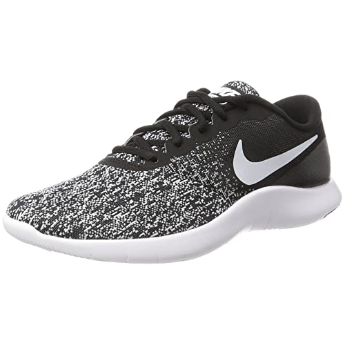 Nike Mens Flex Contact Running Shoes (Black White Size 10 D(M) US)