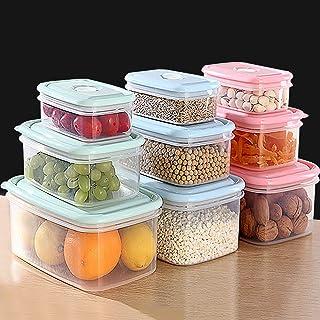 Ensemble De Stockage De Contenants Réutilisables, Contenants De Stockage De Nourriture En Plastique Sans BPA, Contenants H...