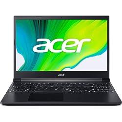 Acer Aspire 7 - Portátil 15.6 FullHD (AMD Ryzen 5 3550H, 8GB RAM, 512GB SSD, NVIDIA GTX1650-4GB)