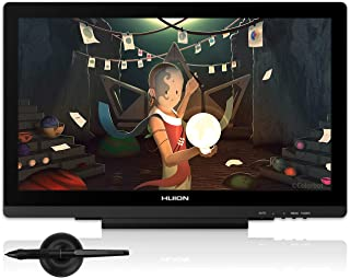 Huion Kamvas GT-191 V2 Drawing Monitor, 19.5 inch Drawing Tablet with Screen, Battery-Free Graphics Tablet with 8192 Levels Pressure Sensitivity, Upgraded Version