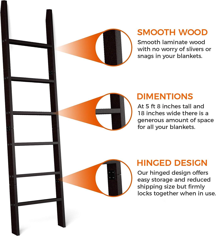 Buy RELODECOR 20 Foot Wall Leaning Blanket Ladder  Laminate Snag ...