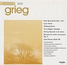 Grieg: Peer Gynt Suite/Lyric Suite/Holberg Suite/2 Elegiac Melodies/String Quartet in G minor/Lyric Pieces