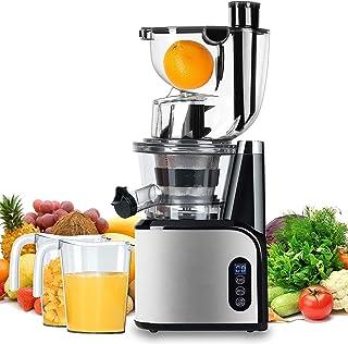 Aobosi Slow Juicer Licuadora para Fruta y Verdura de Prensado en Frio Extractor de Jugos para Fruta Entera con Baja Veloci...