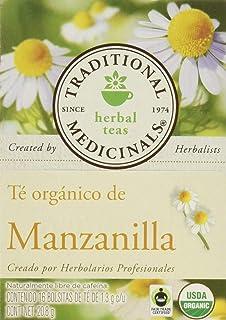 Traditional Medicinals, Té Orgánico De Manzanilla, 21 Gr., 16 Bolsitas De Té