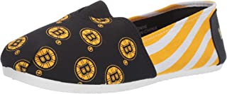 Forever Collectibles NHL Womens NHL Canvas Stripe Shoe - Womens