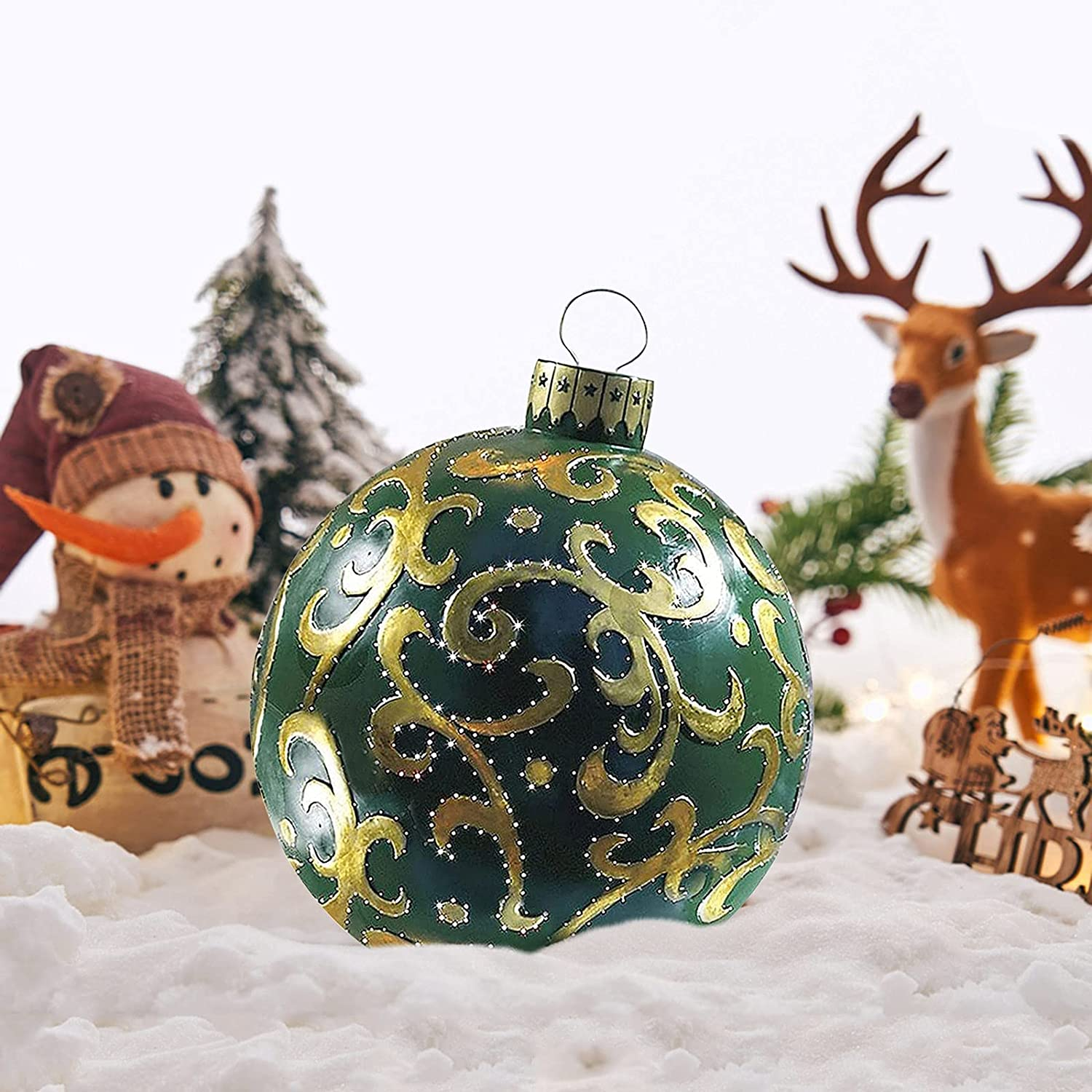 Buy Christmas Inflatable Baubles Sale Clearance, 20cm Christmas ...