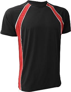 Finden & Hales Mens Coolplus Jersey Sports Team T-Shirt