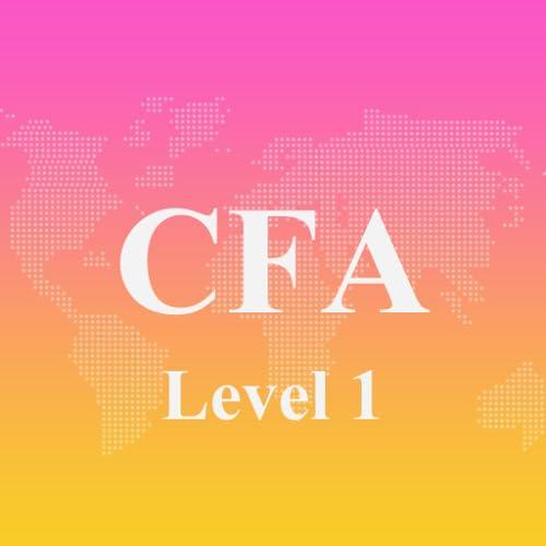 CFA Level 1 Exam Prep 2017 Edition