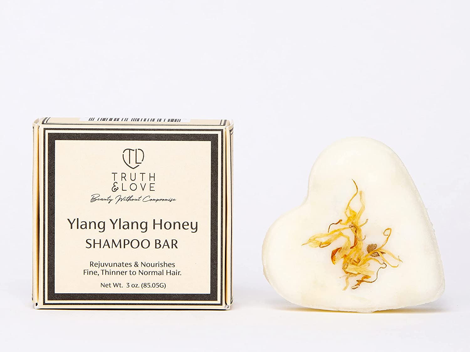 Truth Love Beauty Ylang Honey Bar Mail Popular brand in the world order cheap Thin Fine for Shampoo