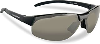 Flying Fisherman Maverick Sunglasses, Matte Black/Smoke