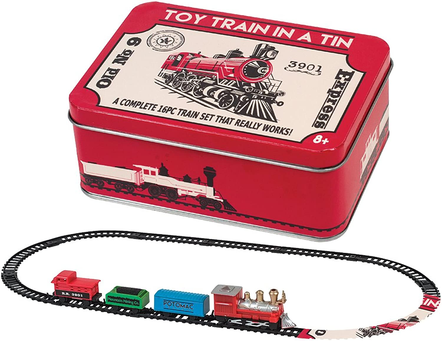 Train in A Tin by Westminster Inc. by Westminster