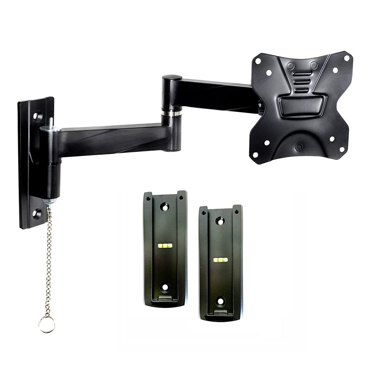 Master Mounts 2311L-2 Portable Travel RV TV Mount Locking Articulating Arm Allows 1 TV to be Used in 2 Locations, Keeps TV Secure in Moving Vehicles up to VESA 100x100 dexzbldmfrxo6306