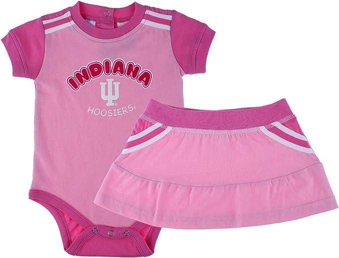 Team Variation Outerstuff NCAA Newborn /& Infants MVP Creeper Bib /& Bootie Set