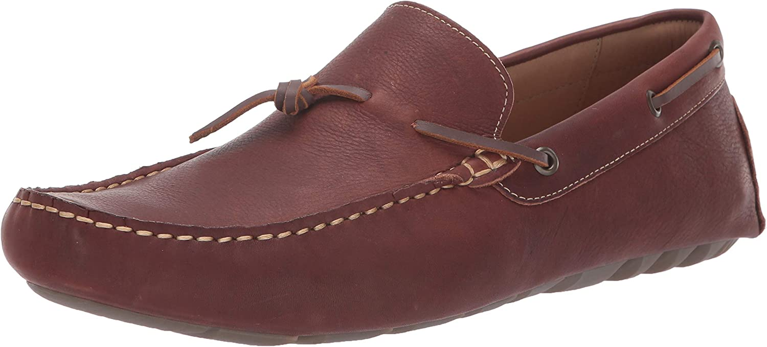 Lucky Brand Hommes's Wagner Loafer Flat, rouge marron cuir, 9.5 M US