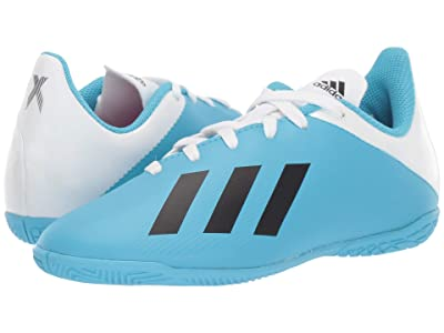 adidas Kids X 19.4 IN Soccer (Little Kid/Big Kid) (Bright Cyan/Black/Shock Pink) Kid
