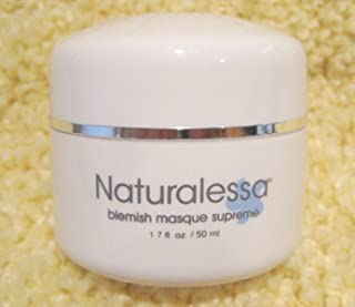 Naturalessa Blemish Mask Supreme for Acne Oily Minimize Breakouts- Comforting Anti- Inflammatory Treatment- Purifying Clay...
