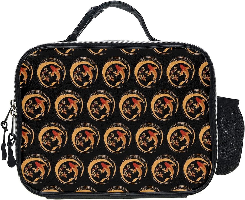 Adults & Kid Lunch Box Lunchbag Can Hang Backpack Portable Tote Bag Handbags
