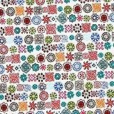 Fabulous Fabrics Flanell farbmix, Kindermotiv, 145cm