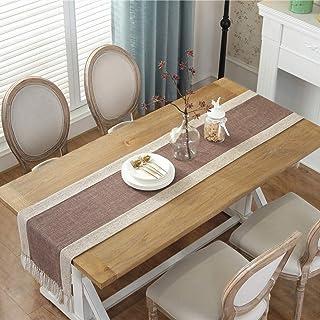 Linge de Table Chemin de Table en Plein air Chemin de Table Pièce maîtresse pour Table à Manger Décoration extérieure Lava...