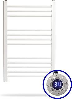 Eurobath Depot Radiador Toallero Eléctrico SUNNY * Toalleros Eléctricos ( Medidas 770 x 500 mm ) 400 Watios * Secatoallas En Color Blanco * 2 AÑOS de Garantía