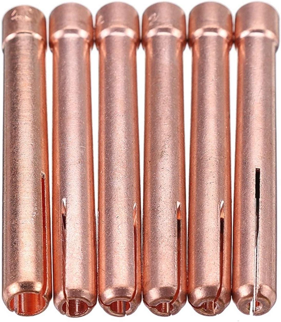 QWSX Outils manuels 56pcs TIG TRUCH Torch DE Torch DE Torque DE Tranche Collet Stubby Stubby GAZ LENGE Coupe DE Verre WP17 WP18 WP26 WT20 Tungsten Outil DE SOUDAGE DE Tungsten Mat/ériel en m/étal