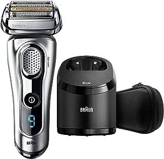 Braun 9290cc 箔剃须刀修剪器 黑色 银色 - 剃须刀(刀片机,黑色,银色,LED,电池,50 分钟,5 分钟)