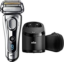 Braun Series 9 9290cc Men's Electric Foil Shaver, Wet and Dry with Clean and Renew Charge Station, Pop Up Trimmer, Recharg...