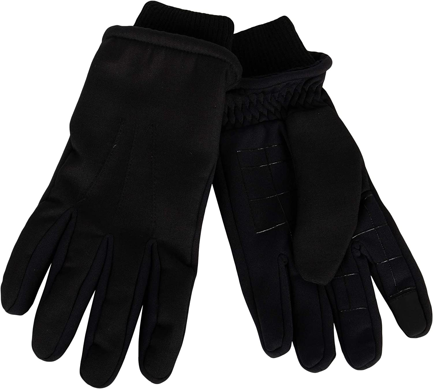 Dockers mens Fabric Gloves Great interest Smartphone With Super-cheap Capabilit Touchscreen