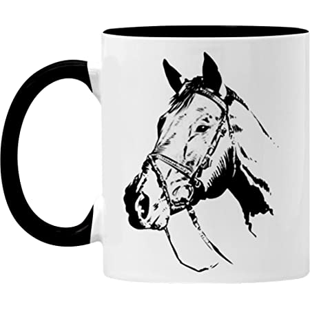 Amazon Com 3drose Jockey And Horse Racing Mug 11 Oz Multicolor Kitchen Dining