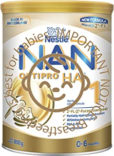 Nestlé NAN OPTIPRO Stage 1 H.A. Infant Milk Formula, 0-6 months, 800g
