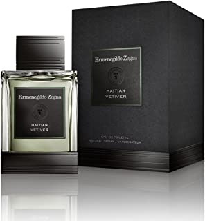 Ermenegildo Zegna - Haitian Vetiver Fragrance - Eau De Toilette - 4.2 FL OZ / 125 ML