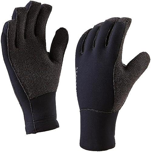 SealSkinz 12100054010150 Gants Mixte Adulte, Noir, FR   2XL (Taille Fabricant   XXL)