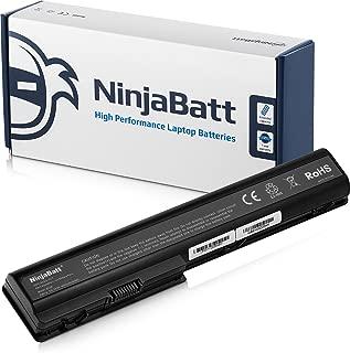 NinjaBatt Laptop Battery 480385-001 HSTNN-IB75 for HP Pavilion DV7-3065DX DV7-3165DX DV7-1245DX DV7-3085DX 464058-121 464059-121 464059-122 HSTNN-C50C HSTN-DB85 HSTNN-DB74 - [8 Cells/4400mAh/63Wh]