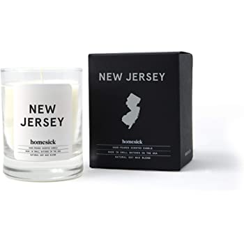 Homesick Mini Scented Candle (10 to 12 hr Burn Time) 1.5 oz, New Jersey